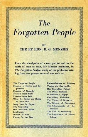 The Forgotten People  - R.G. Menzies